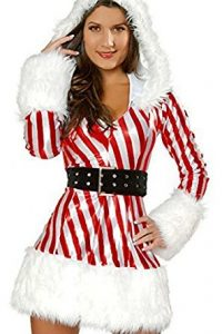 sexy santa costumes candy cane