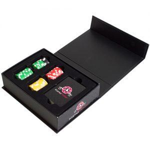 christmas gift poker set