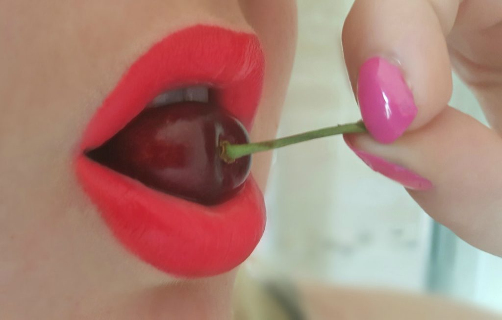 Erotic cherry Lips