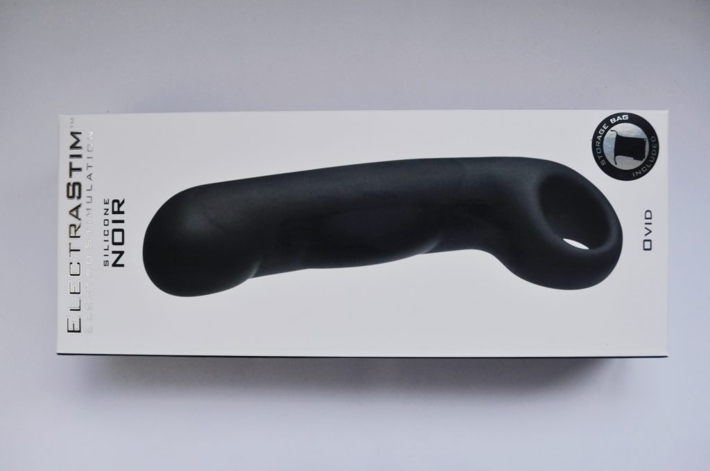 ElectraStim Noir Ovid Dildo Packaging