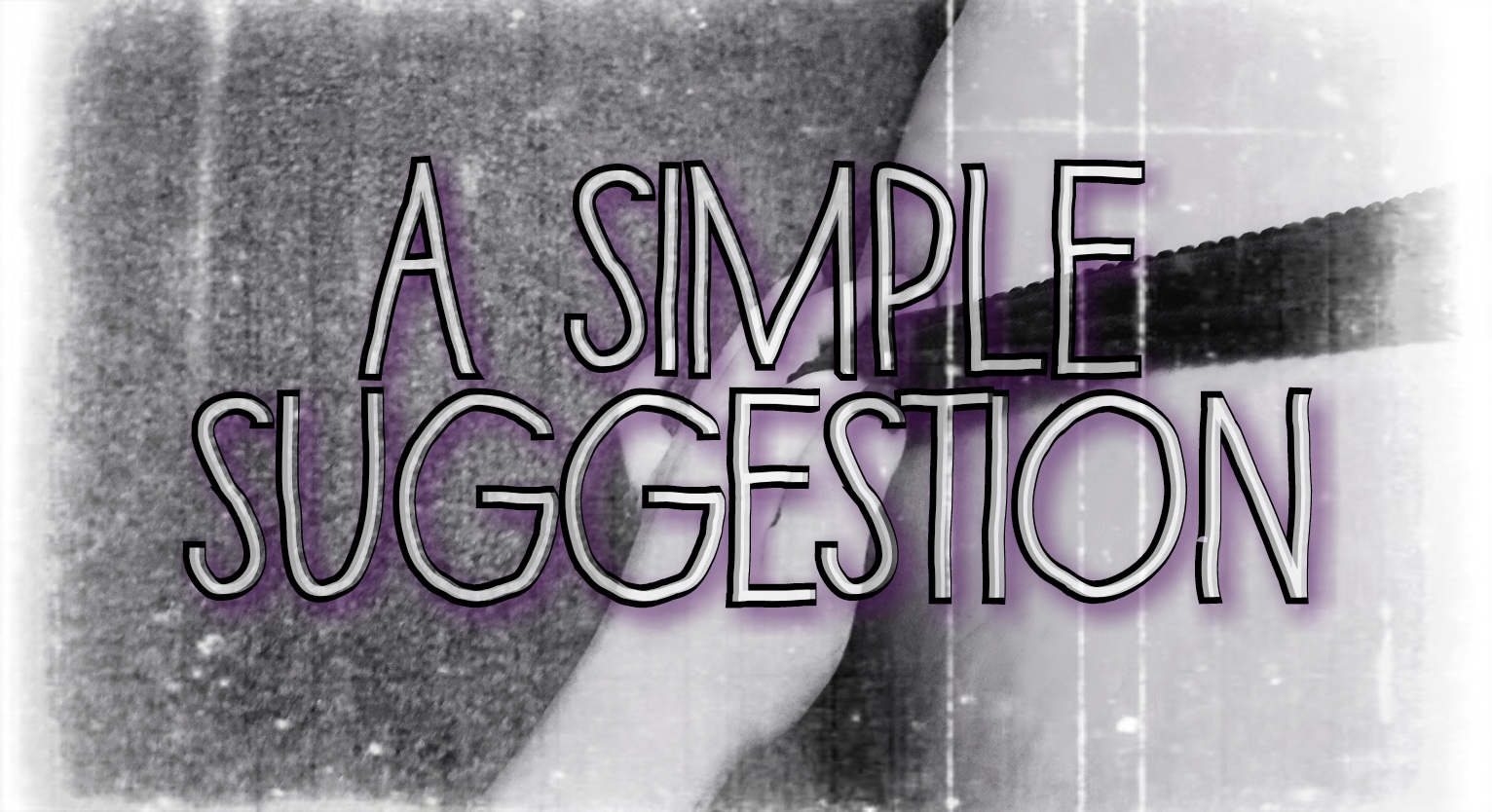 Sinful Sunday – A Simple Suggestion