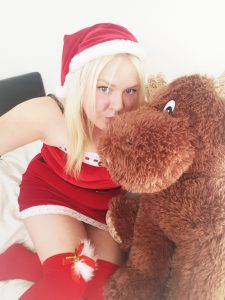 Sinful Sunday - Santa Strip