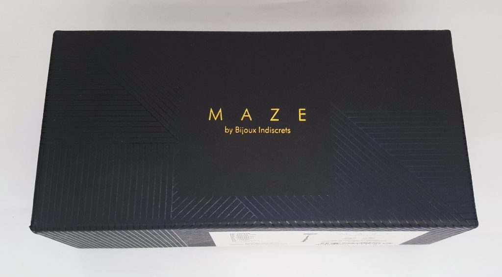 Bijoux Indiscrets Maze Tassel Choker Packaging