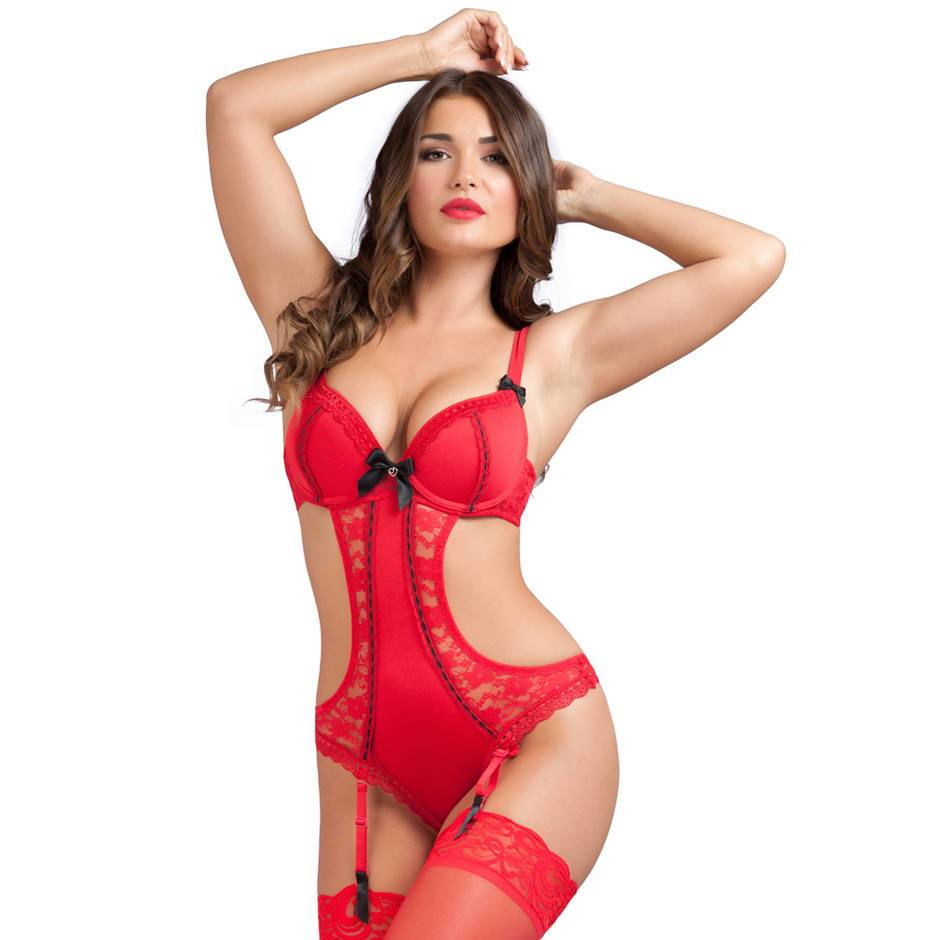 Rectangle Valentine's Lingerie