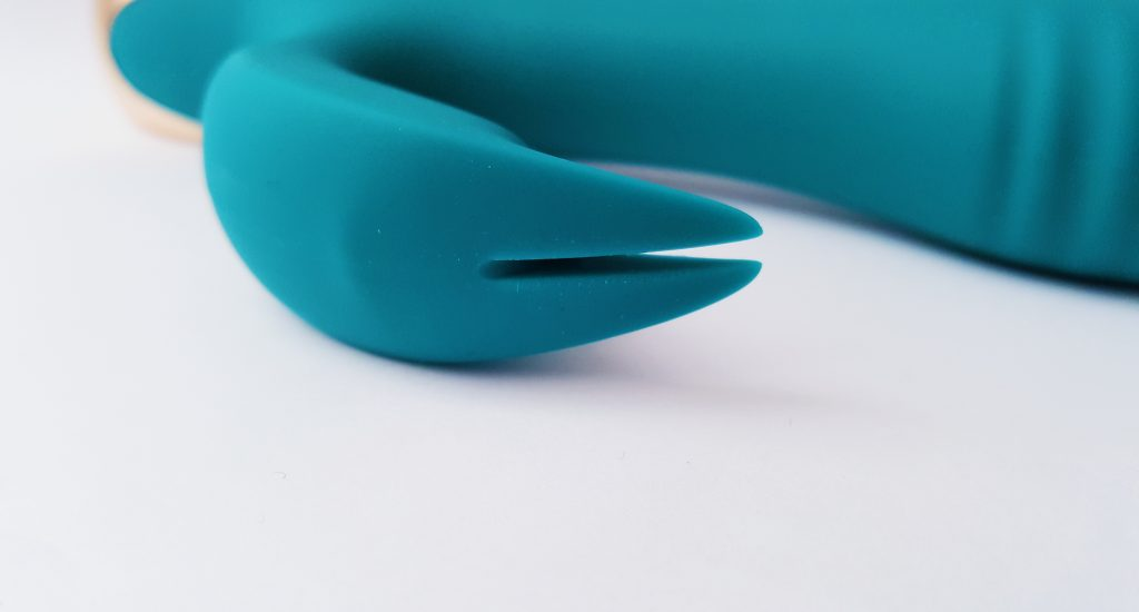 Close up image of the Maia Skyler Flexible Rabbit Vibrator Ears
