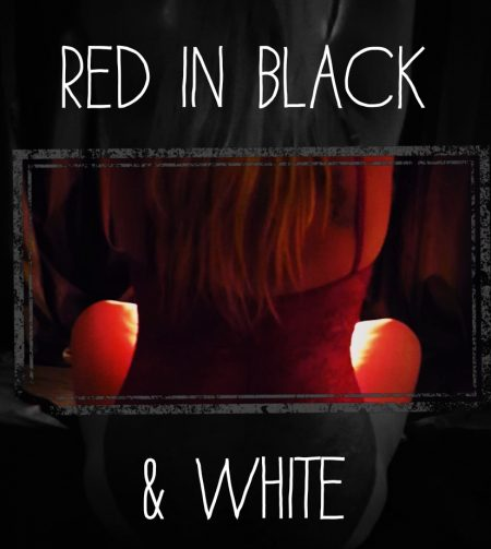 Sinful Sunday - red in black and white