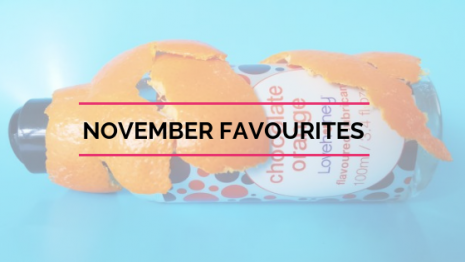 November Favourites – Curvy Cocks & Chocolate Lube